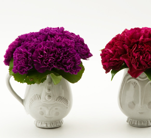 the artworks, flowers, delivery, carnations, Jonathan Adler